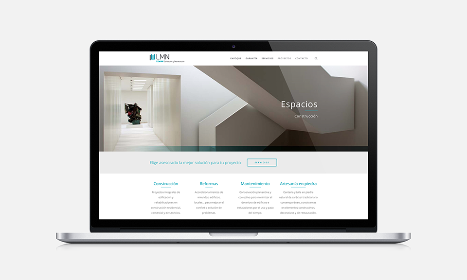 Luman diseño web wordpress