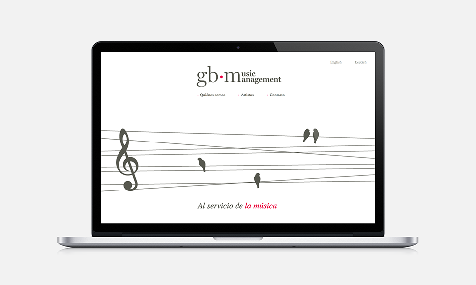 Music Management GB web HTML